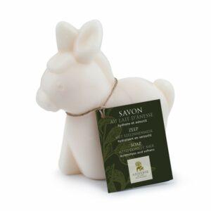 Savon au lait d'ânesse en forme d'âne 150g